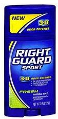 Right Guard - Right Guard Sport 3D Fresh Antiperspirant Deodorant 79GR